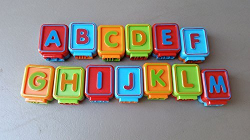 Sit-to-Stand Alphabet Train 13 Replacement ABC Blocks New Style, Replacement ABC blocks... by