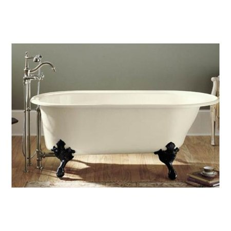 Kohler K-710-W-0 Iron Works Historic Bath White Back