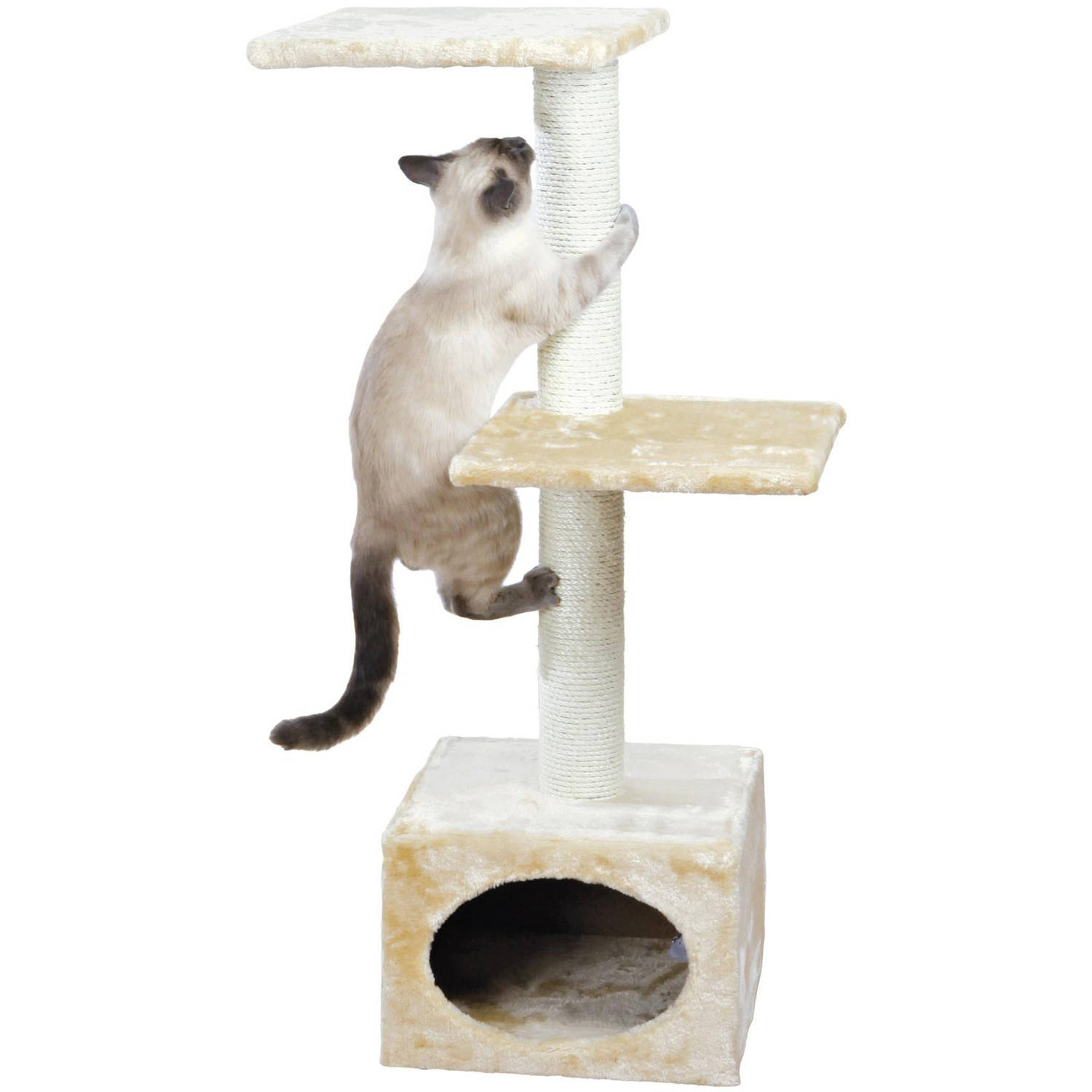 TRIXIE Pet Products, Inc. Trixie Pet Products Badalona Cat Tree, Brown