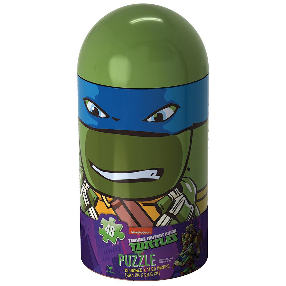 Teenage Mutant Ninja Turtle Capsule 48 Piece Puzzle,  Cartoons | Comics by Cardinal
