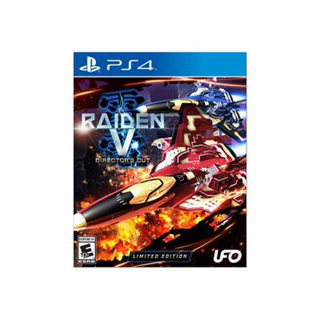 Image of Raiden V: Director's Cut Limited Edition with Original Soundtrack CD