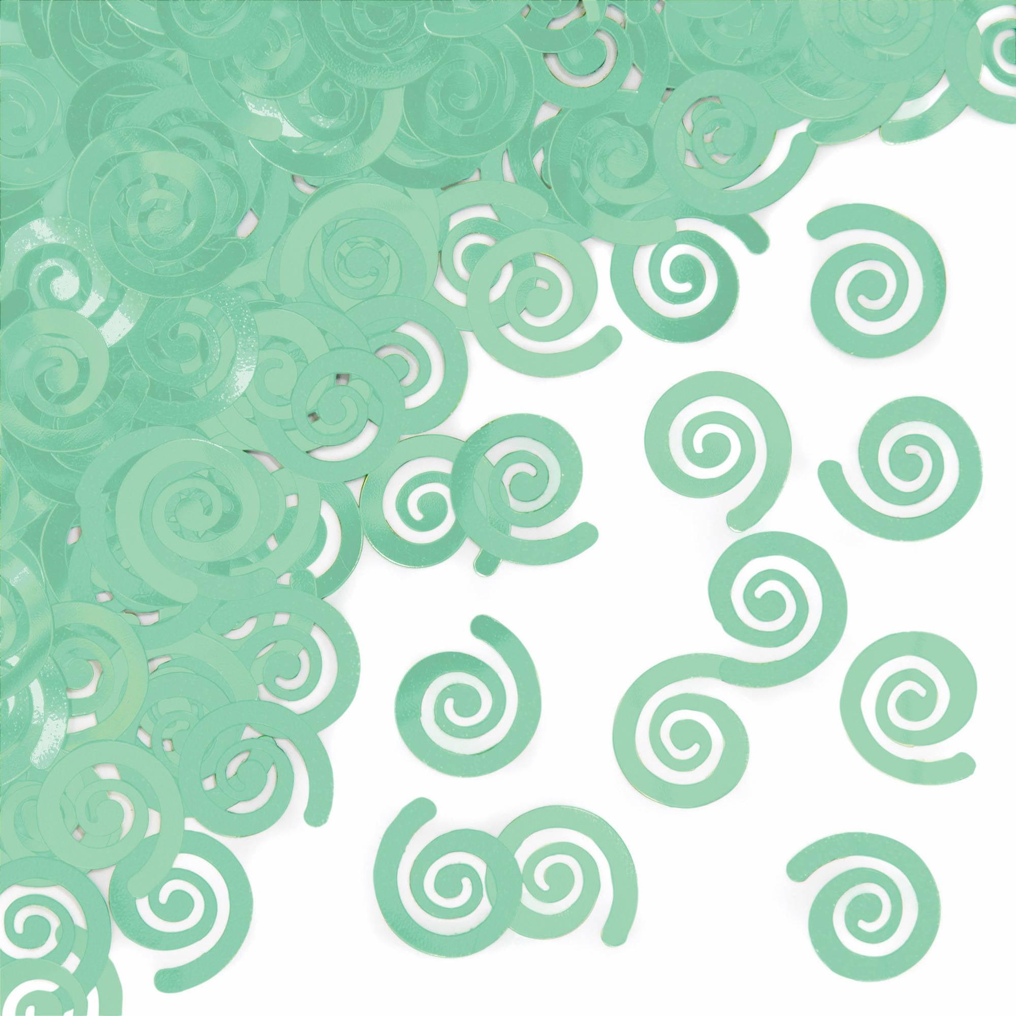 Mint Green Confetti, 1pk