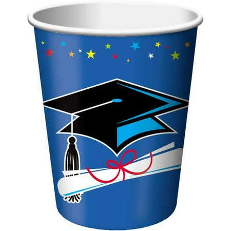Graduation Cups (Star Grad 9oz. Hot/Cold Cups)