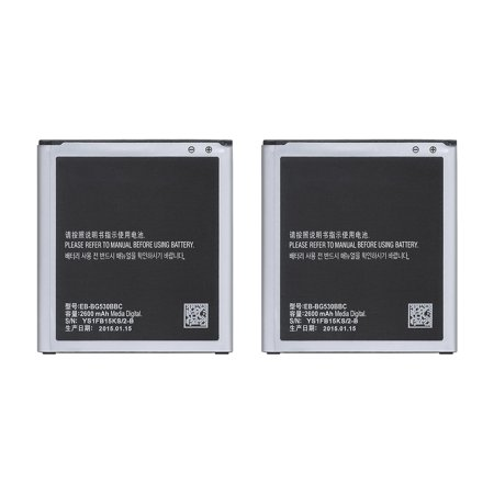 Replacement Battery For Samsung Galaxy J3 Luna Pro Mobile Phones - EB-BG530BBC (2600mAh, 3.8V, Lithium Ion) - 2
