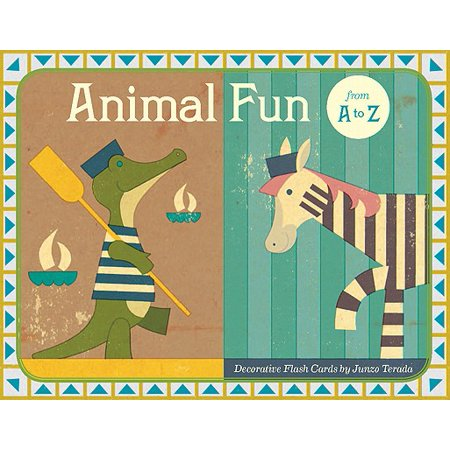 Animal Fun from A to Z : Decorative Flash Cards