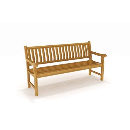 Aqua Teak Bench Photo