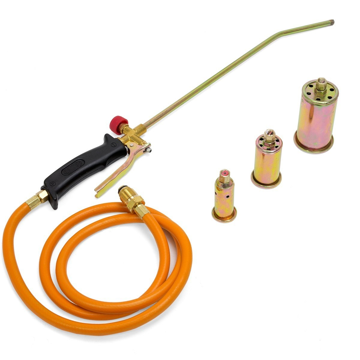STARK Propane Torch with 3 Nozzles Portable Melting Ice S...