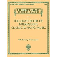 The Giant Book of Intermediate Classical Piano Music (Paperback)