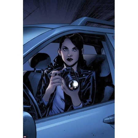 Spider-Man No. 5 Panel Featuring Jessica Jones Poster Wall Art By Pichelli Sara