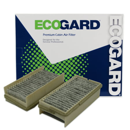 ECOGARD XC25246C Cabin Air Filter with Activated Carbon Odor Eliminator - Premium Replacement Fits Chevrolet Venture / Pontiac Montana, Trans Sport (Pontiac Trans Sport Air)