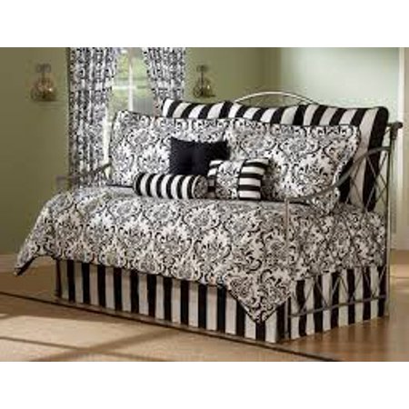 Daybed Comforter Set 10 Piece Bedding Black White Bed In A