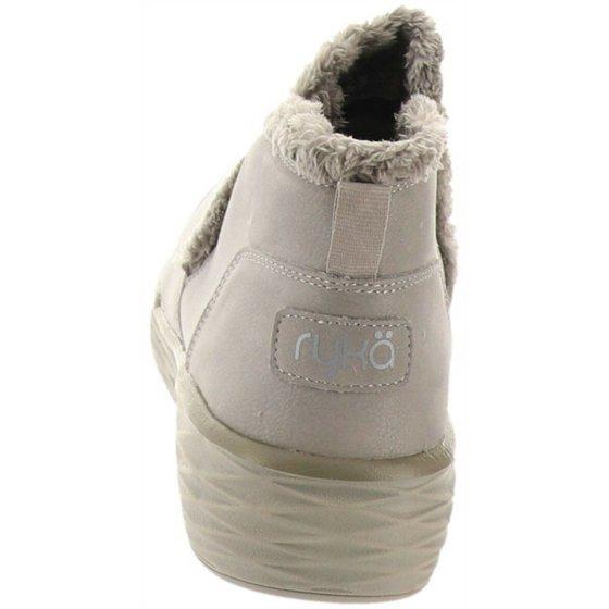 Ryka Ryka Faux Fur Wedge Ankle Boots Namaste A295194