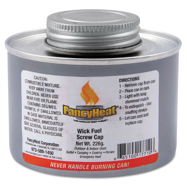 FANCY HEAT Chafing Fuel Can 4 Hour Burn (Set of 24)