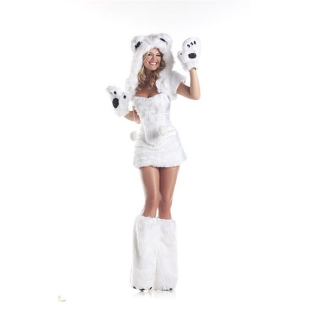 Polar Bear Costume - Polar Bear Kids Costume