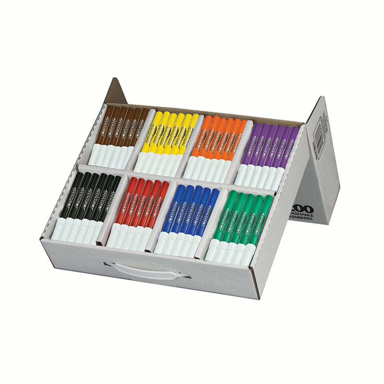 Dixon Conical Tip Washable Master Pack Markers