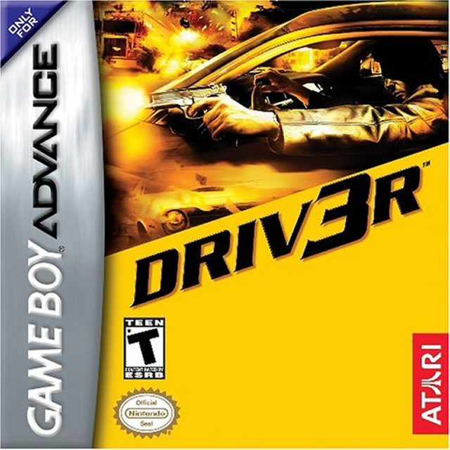 Driv3r Driver 3 GBA
