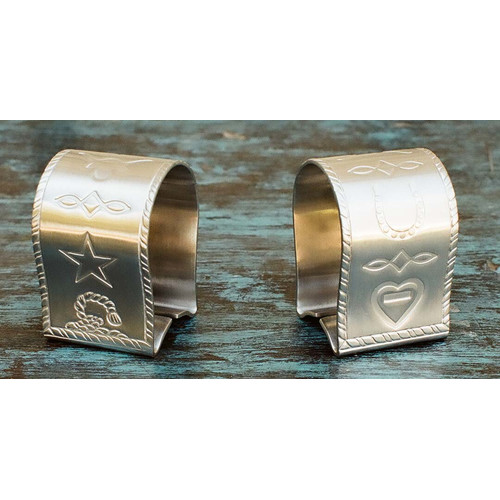 West Creation Western Napkin Rings (Set of 4)