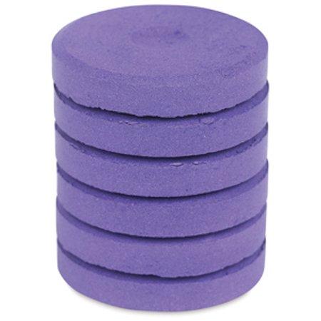 Tempera Mini Cakes - Purple, Package of 6