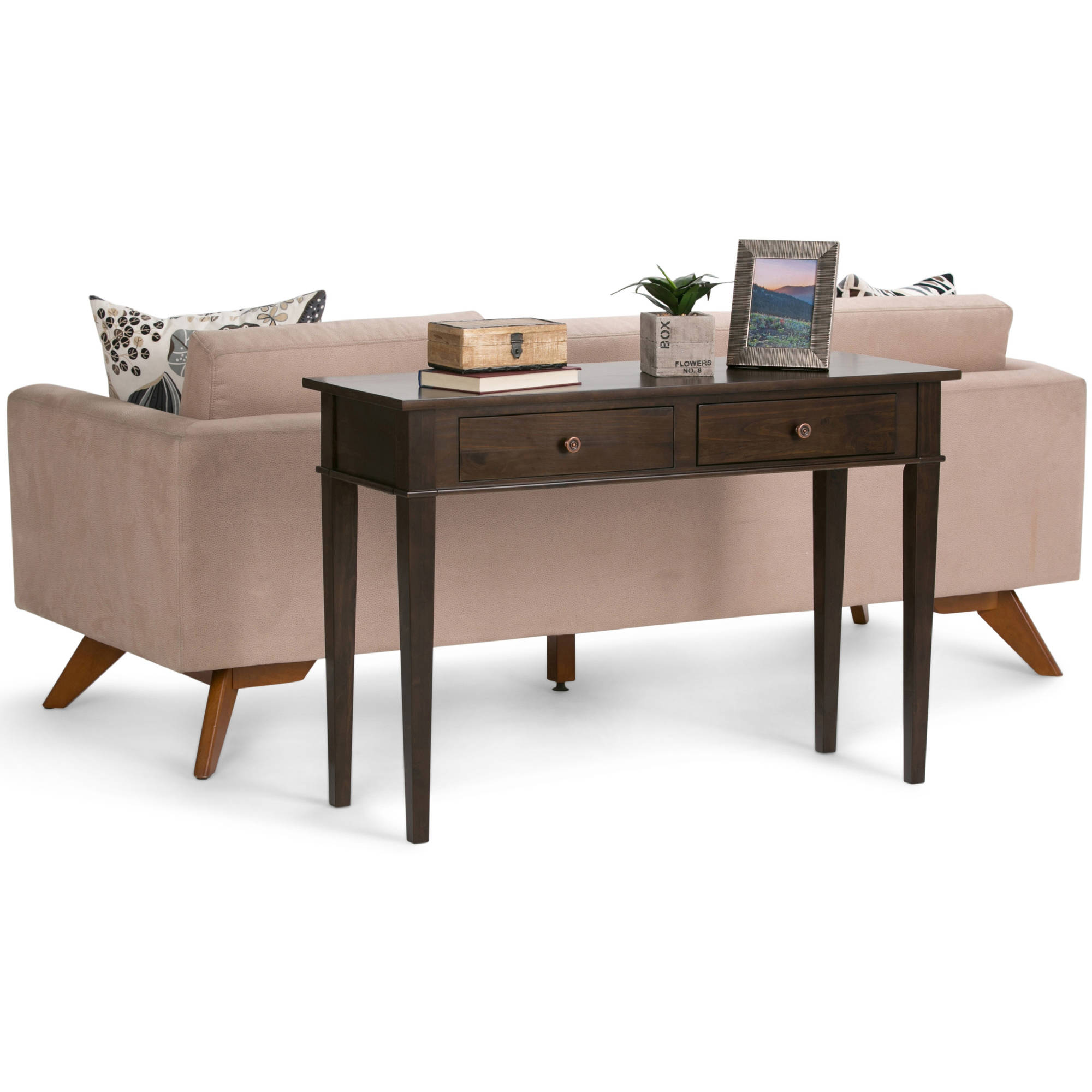 Carlton Console Sofa Table by CCT Global Sourcing Inc