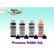 Edible Supply 2 oz BK/C/M/Y Edible Ink Refill Combo Kit for All Canon InkJet Printers - Best Reviews Guide