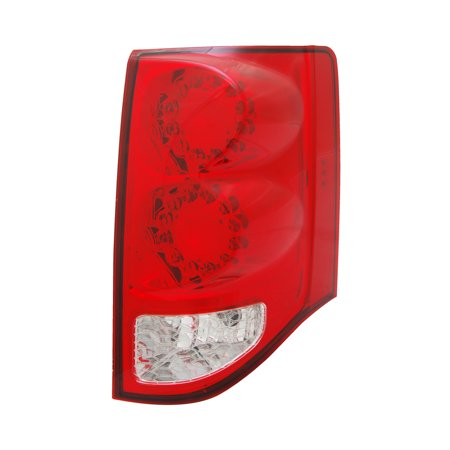 2011-2015 Dodge Grand Caravan  Aftermarket Passenger Side Rear Tail Lamp Assembly 5182534AD NSF Dodge Grand Caravan Tail Lamp