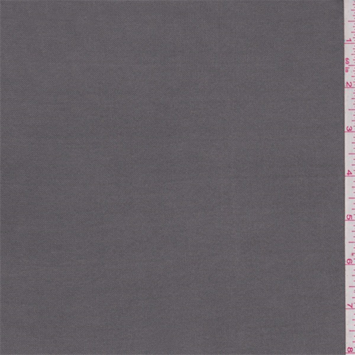 Steel Grey Rayon T-Shirt Knit, Fabric By the Yard