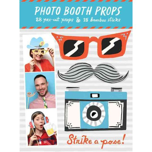 STRIKE A POSE PHOTO BOOTH PROPS