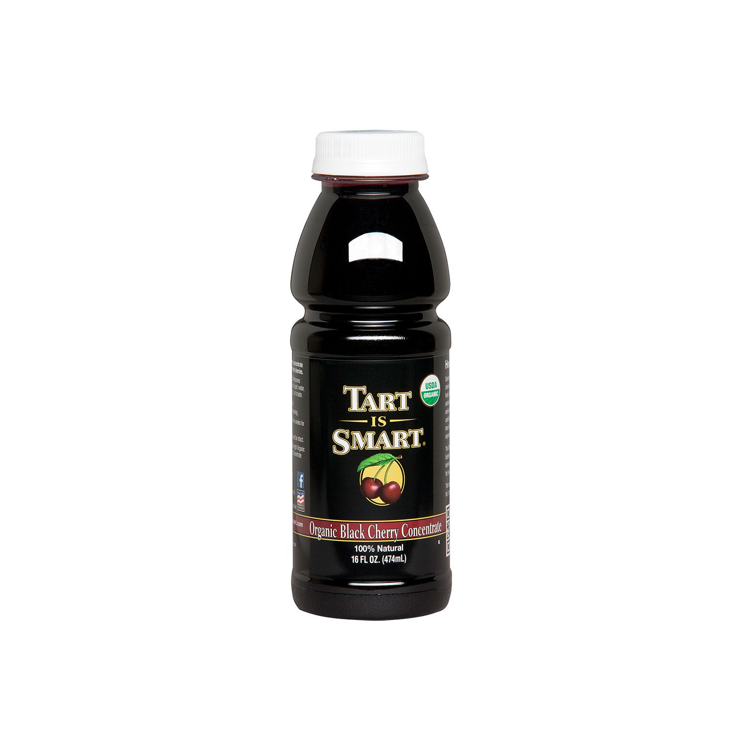 Tart is Smart Organic Black Cherry Concentrate (16 oz., 6...