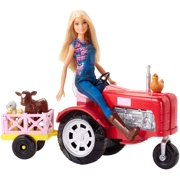 Barbie Careers Farmer Doll and Tractor with Themed Accessories