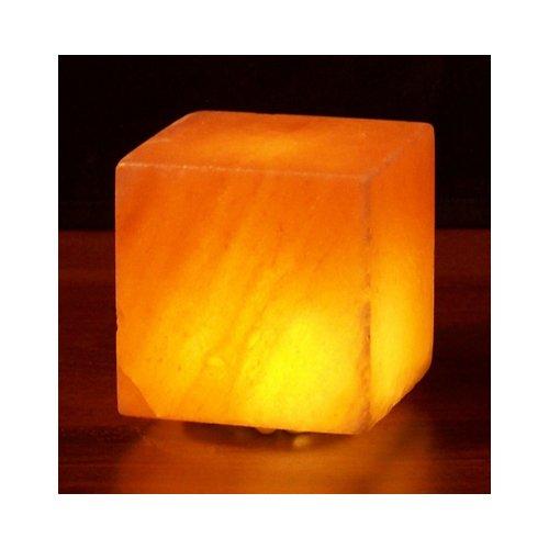 Himalayan Salt 1248202 Cube Salt Lamp Usb 3 In