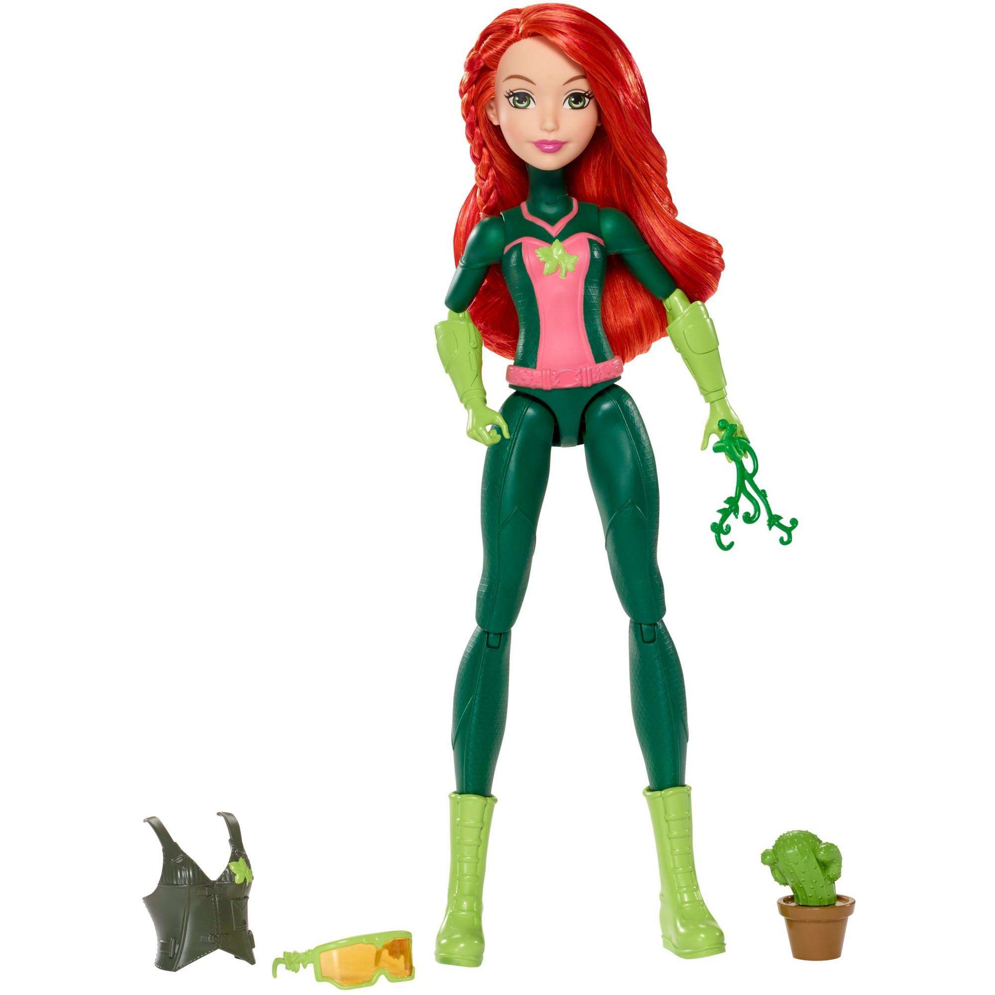 DC Super Hero Girls Mission Gear Poison Ivy Doll