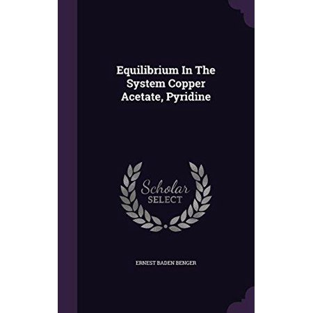 Equilibrium in the System Copper Acetate, Pyridine - image 1 of 1
