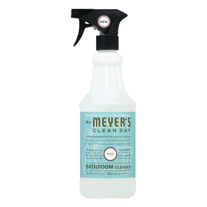 Mrs. Meyers 1210590 Bathroom Cleaner Basil 24 oz.