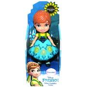 "Anna Frozen Summer Time Disney Mini Toddler Doll 3"""