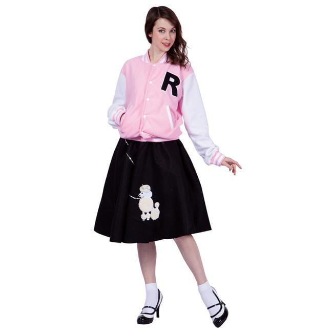 RG Costumes 81351-BL-M Letterman Jacket Adult Women Costume d99ca848ad