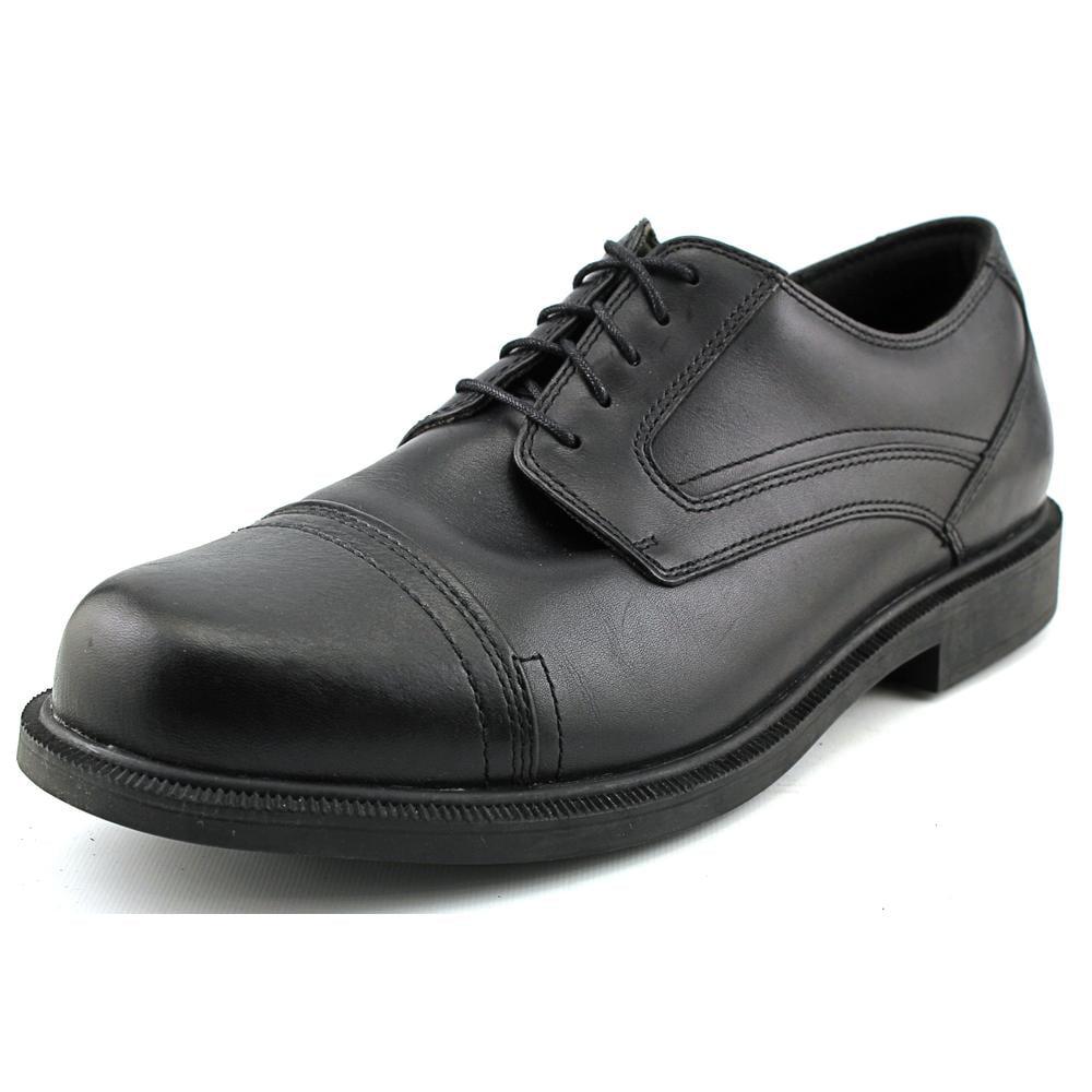 Dunham Jackson Men Round Toe Leather Black Oxford by Dunham