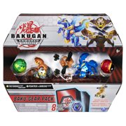 Bakugan Baku-Gear 4-Pack, Tretorous Ultra with Baku-Gear and Fused Pegatrix x Goreene Ultra Collectible Action Figures
