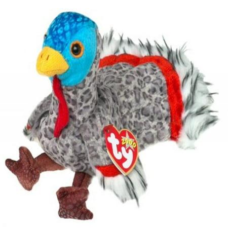 TY Beanie Baby - LURKEY the Turkey](Plush Turkey)