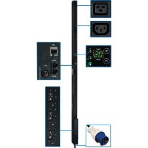 Tripp Lite PDU 3-Phase Monitored 200/208/240V 14.5kW IEC-309 42 C13; 6 C19 0URM