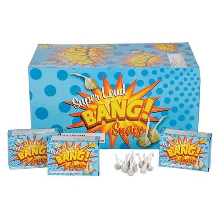 2500 Party Bang Snaps Snap Pop Pop Snapper Throwing Poppers Trick Noise Maker