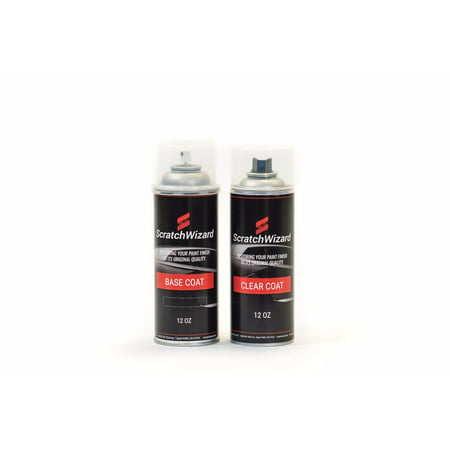 Automotive Spray Paint for Ford GT TL/M7049 (Satin Silver Pearl Metallic) Spray Paint + Spray Clear Coat by (Satin Clear Coat)