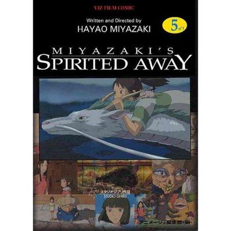 Spirited Away Film Comic 5