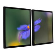 ArtWall Wildflower Dance by Kathy Yates 2 Piece Framed Photographic Print Set