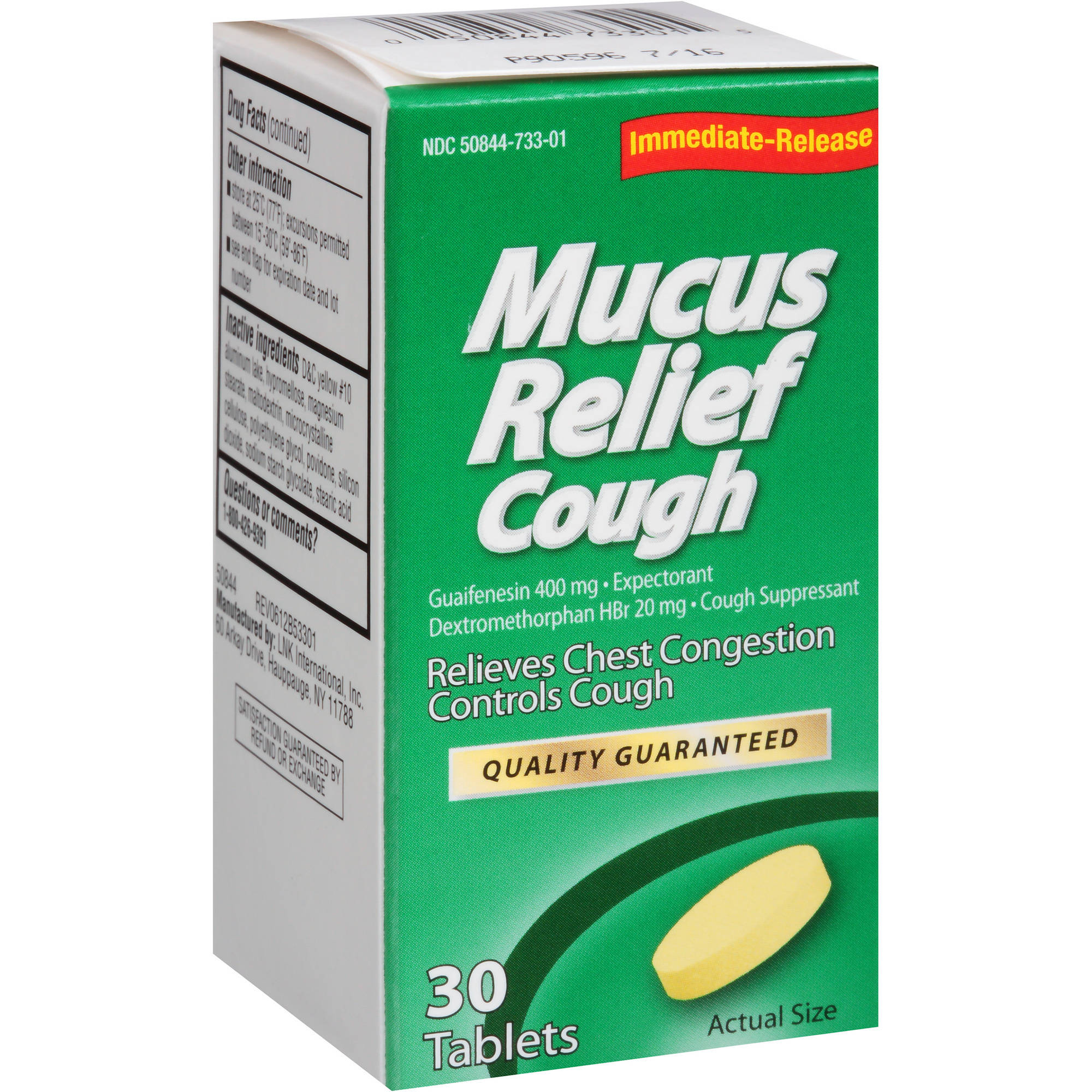 MUCUS COUGH 30CT