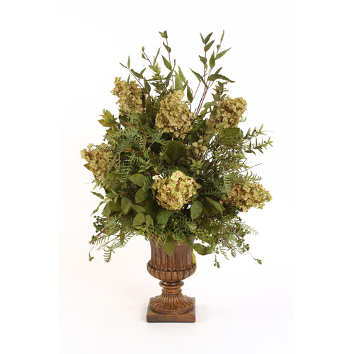 Distinctive Designs Silk Arrangement in Classic Urn