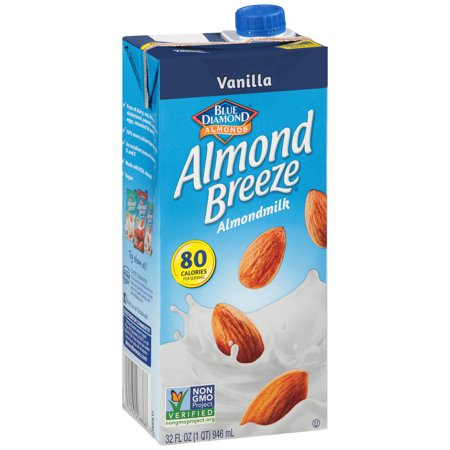 Blue Diamond® Almond Breeze® Vanilla Almondmilk 32 fl. oz. Aseptic Carton