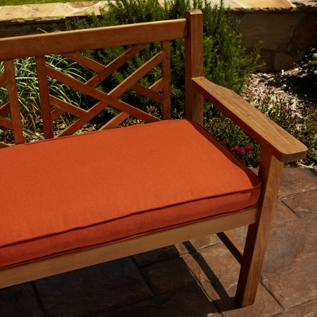 Humble and Haute Clara Rust Indoor/ outdoor 48-inch Sunbrella Bench Cushion