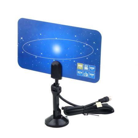 Indoor Television Antenna Box Ready HD UHF/VHF/FM Stereo For Satellite Signal HDPML