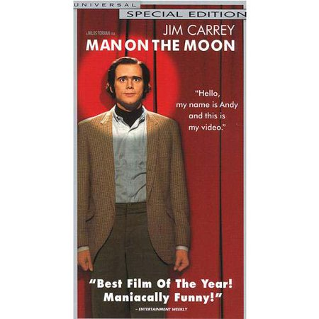 Man On The Moon Special Edition (1999) VHS Tape - (Jim Carrey / Danny DeVito) - Vhs Tape Costume