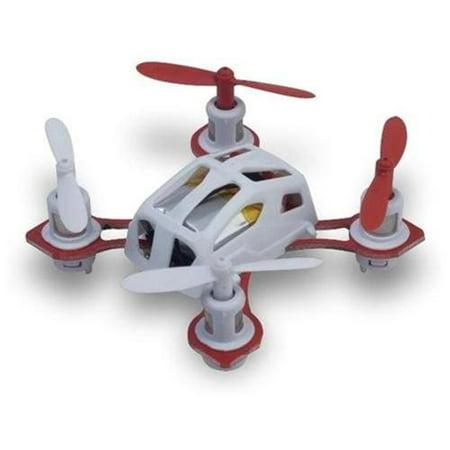 Microgear 2.4 GHz. Radio Controlled RC QX-288 Mini Gyro Quadcopter - White
